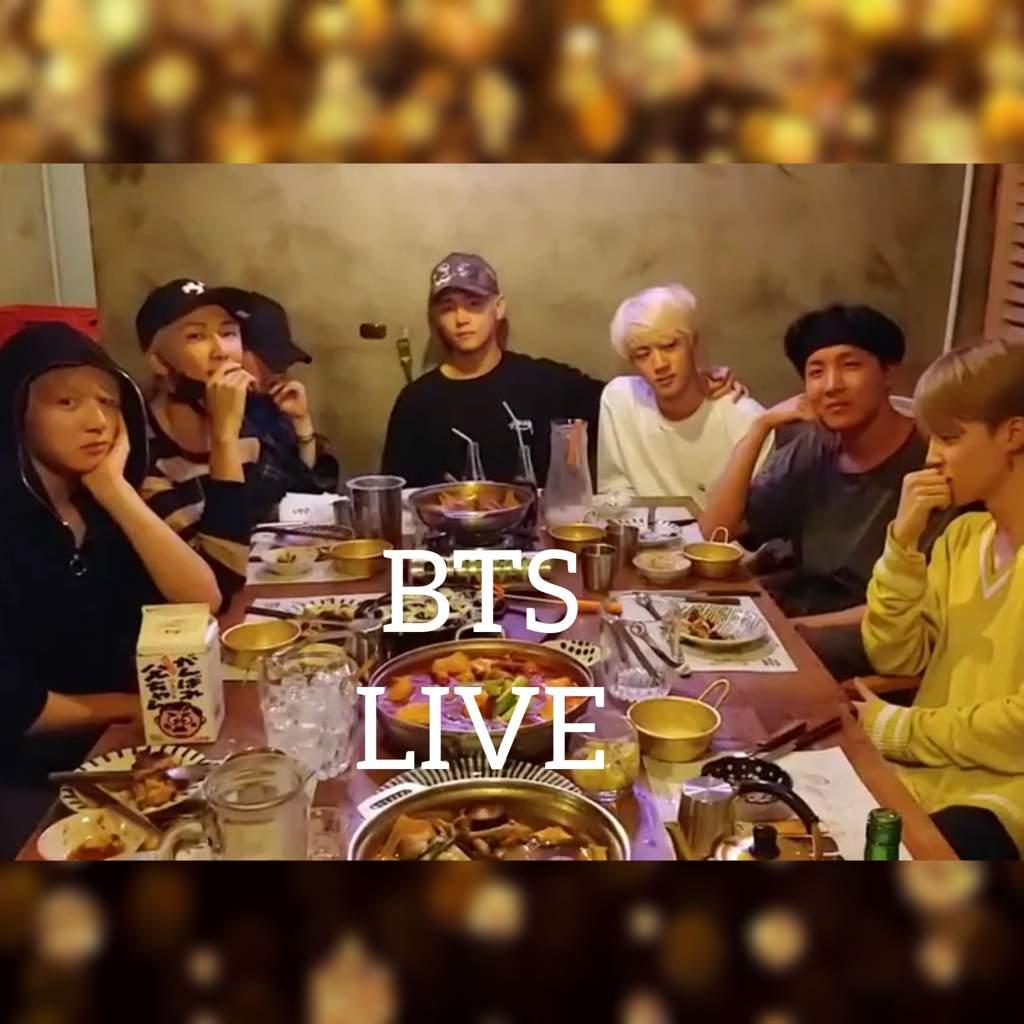BTS V-LIVE TODAY! 180725 | BTS Amino