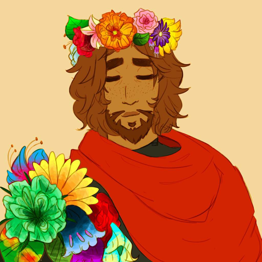 Flower Crown Mccree Art Amino