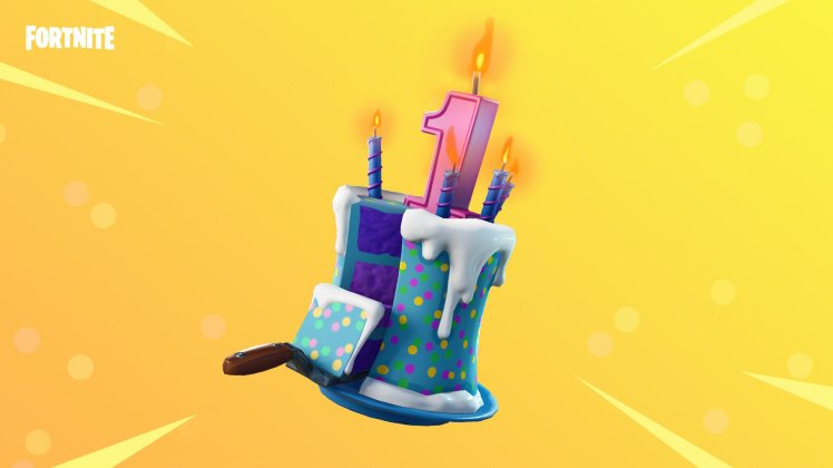 How Many Of You Have The Birthday Cake Back Bling Fortnite