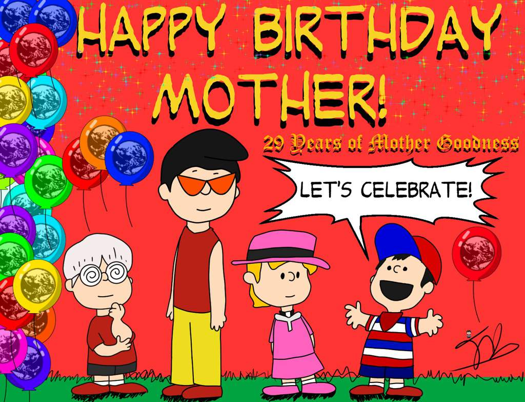 The Peanutbound Mother 1 29th Year Celebration  | EarthBound