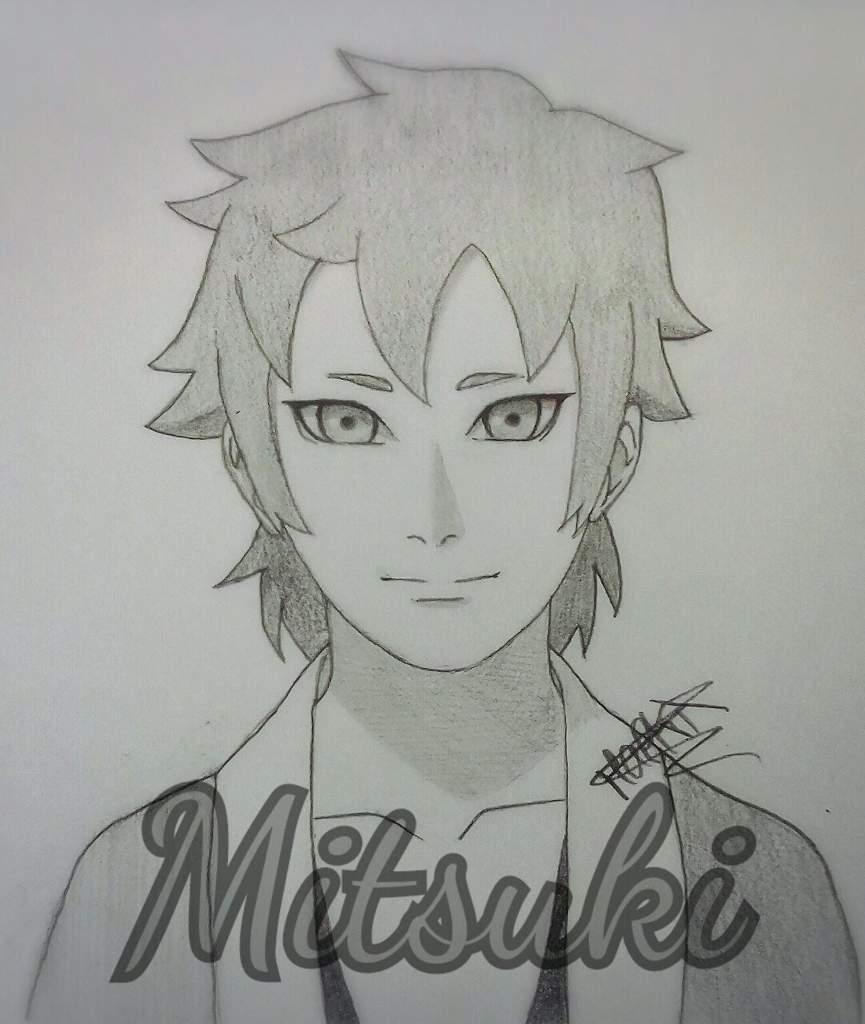Tuto Dessin Comment Faire Mitsuki Naruto Boruto Fr