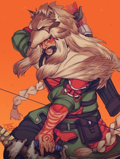 5a272408e6 Lone Wolf // Hanzo 🏹❤   Overwatch Amino