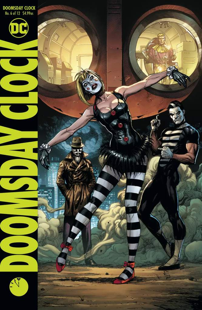 Doomsday Clock Review Part 6 Comics Amino