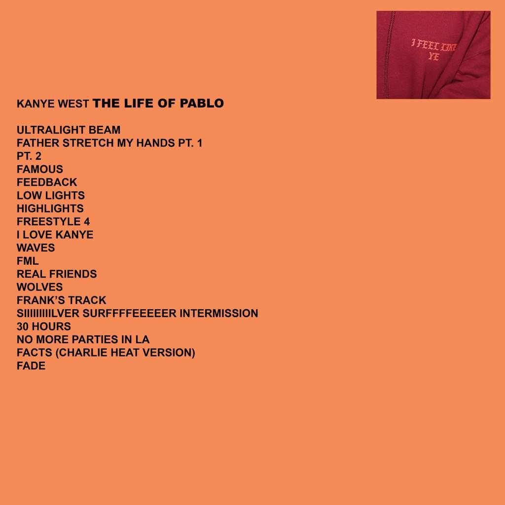 Kanye West The Life Of Pablo Скачать торрент - Putobi
