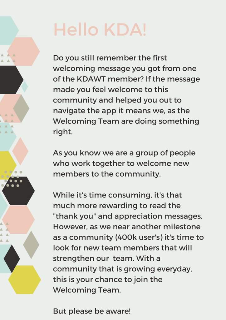 CLOSED] KDA Welcoming Team Recruitment! | K-Drama Amino