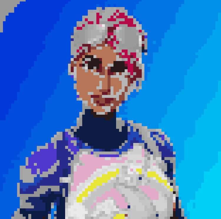 Pixel Art Brite Bomber Fortnite Battle Royale Armory Amino