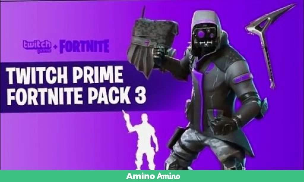 Pack Twitch prime 3 | Fortnite [Español] Amino