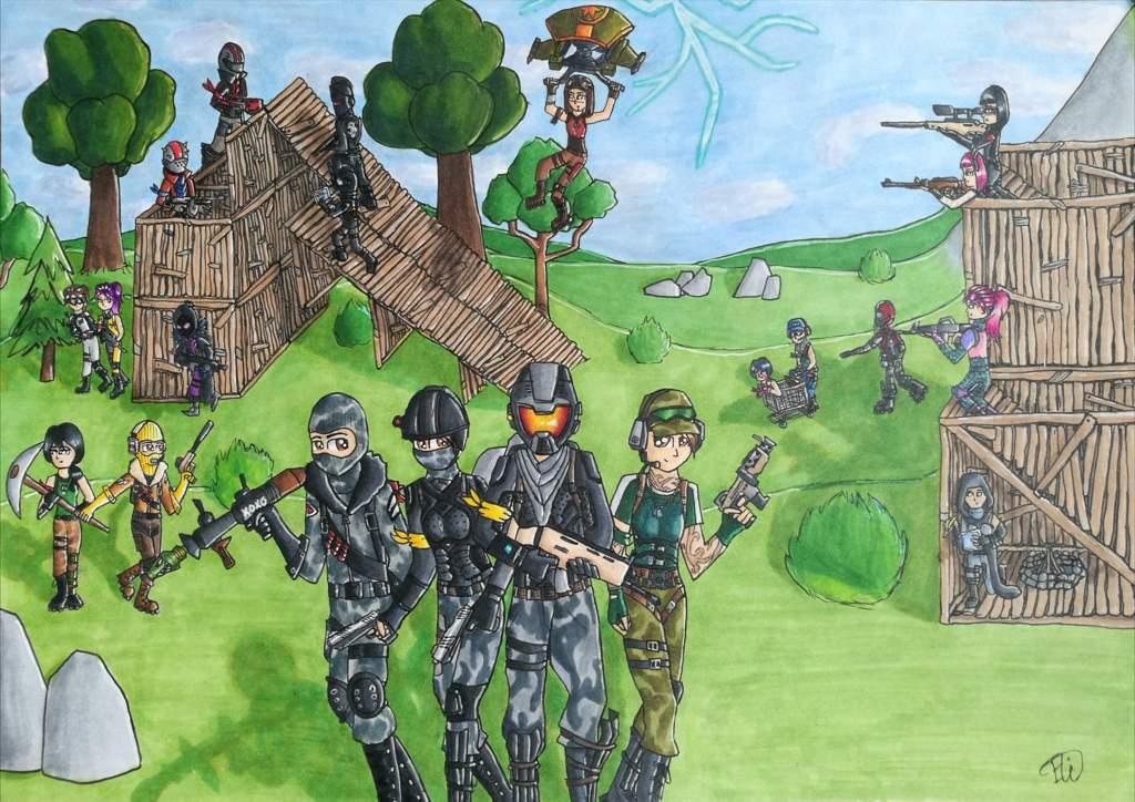 Fortnite Fanart Fortnite Battle Royale Armory Amino