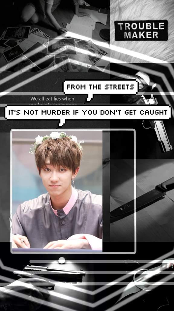 Gang AU Xu Minghao Aesthetic Lockscreen | Seventeen Amino Amino