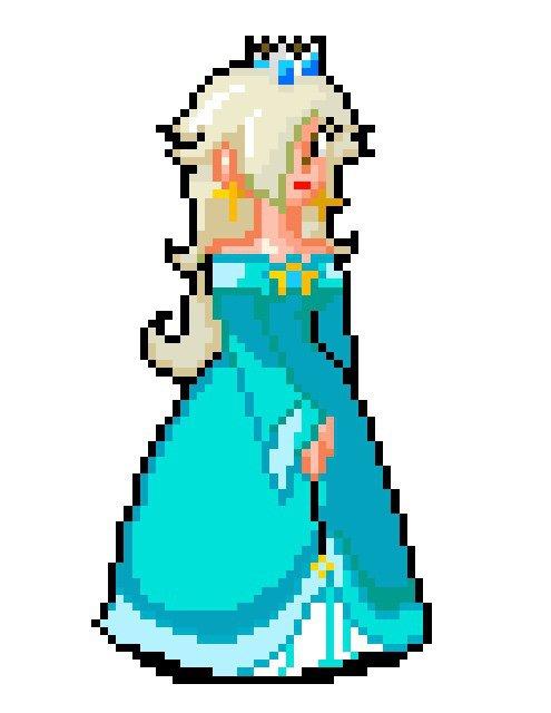 pixel rosalina mario amino