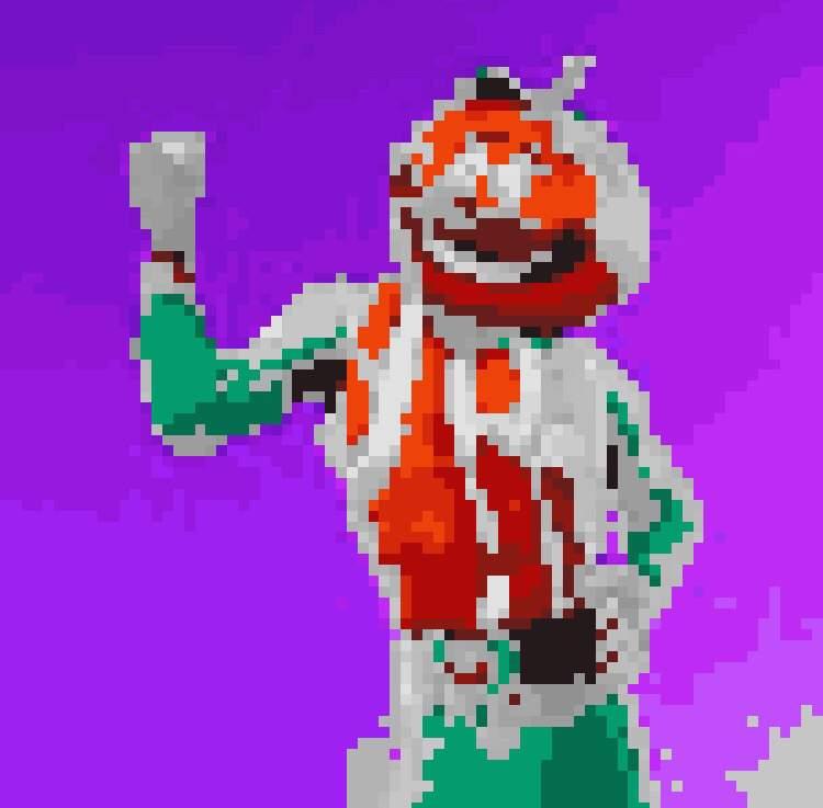 Pixel Art Tomato Head Fortnite Battle Royale Armory Amino