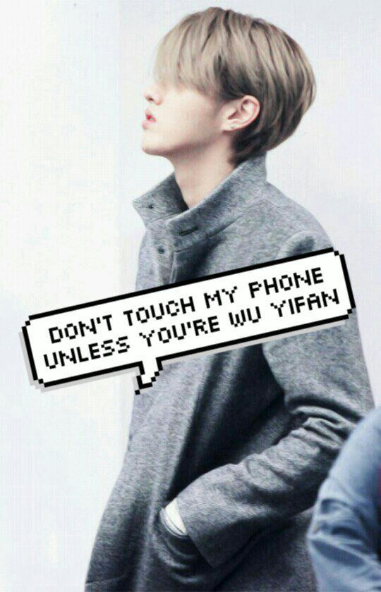 Don T Touch My Phone If U Not My Oppa Wallpapers Exo ̗'소 Amino To ensure the best experience, only have one of these apps open at a time. don t touch my phone if u not my oppa