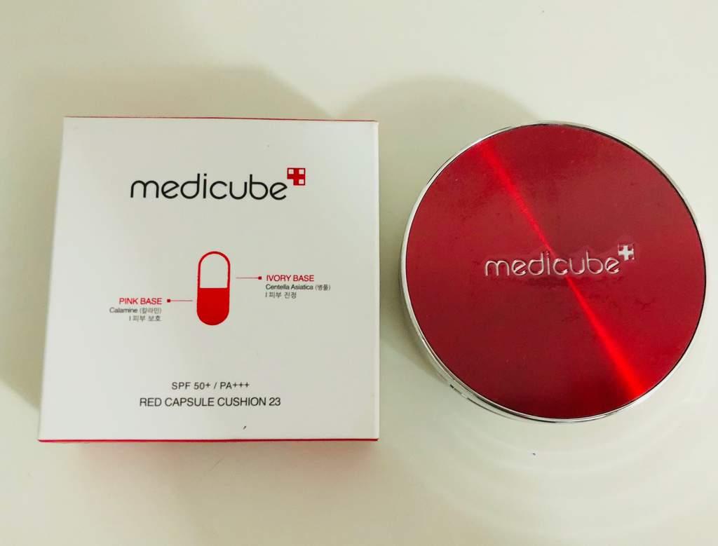 Medicube Red Capsule Cushion Korean Beauty Amino