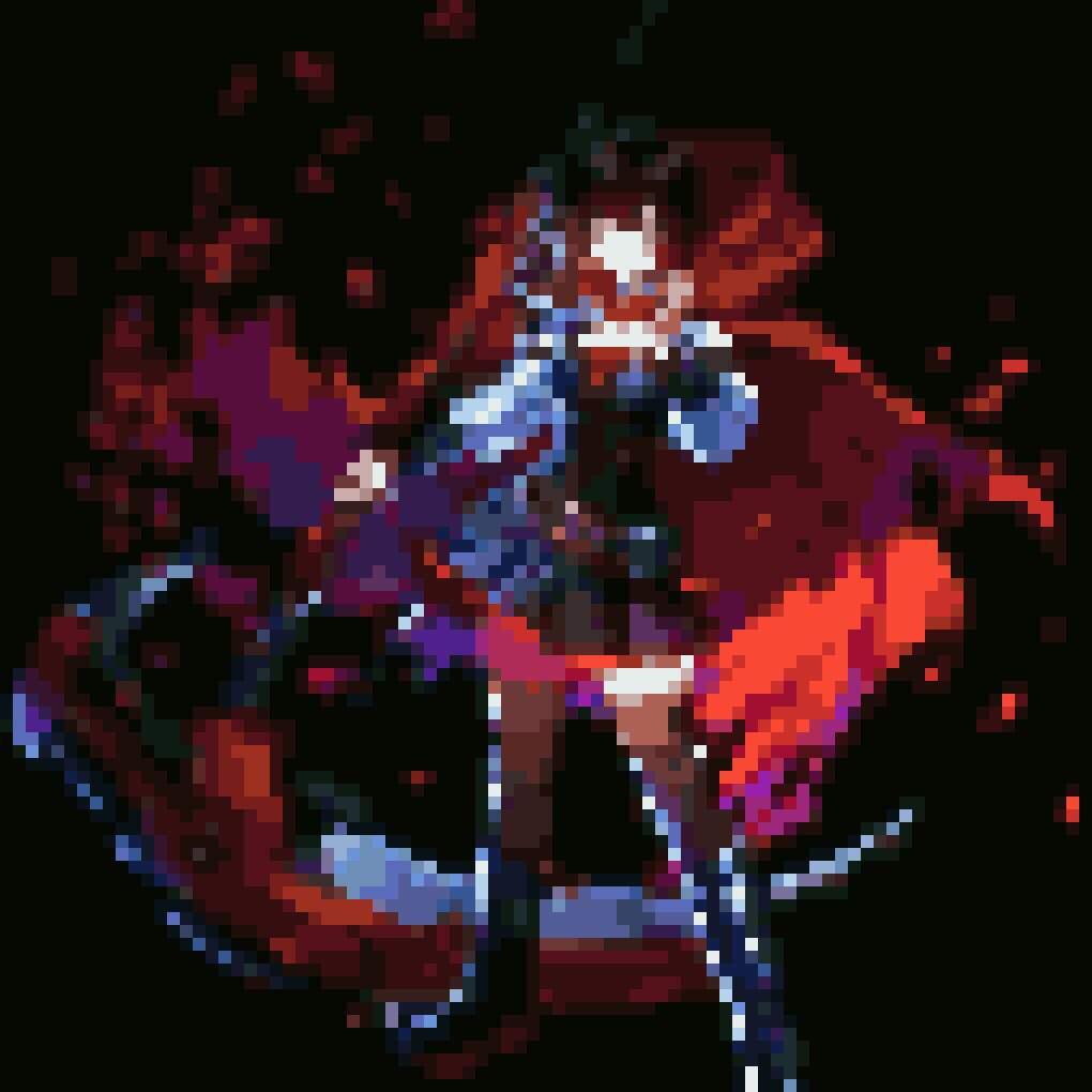 Ruby Rose Pixel Art