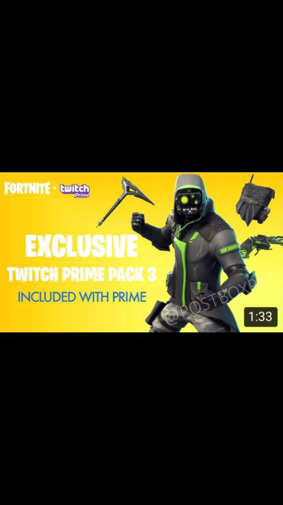 ARCHETYPE LEAKED TO BE TWITCH PRIME SKIN!!!!! | Fortnite