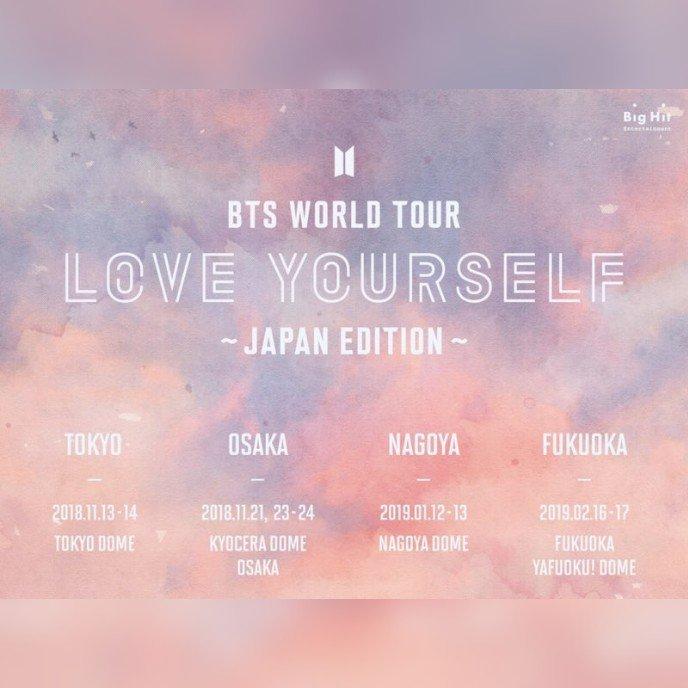 Bts World Tour In Japan Bts Amino