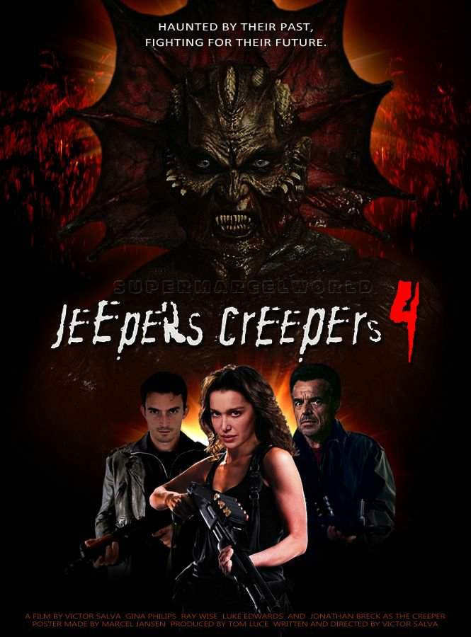 My Ranking of: The Jeepers Creepers film's    Horror Amino
