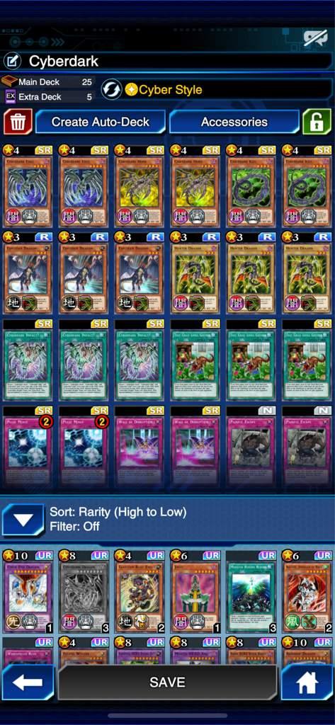 Cyberdark deck ( still a work in progress ) | Yu-Gi-Oh! Duel