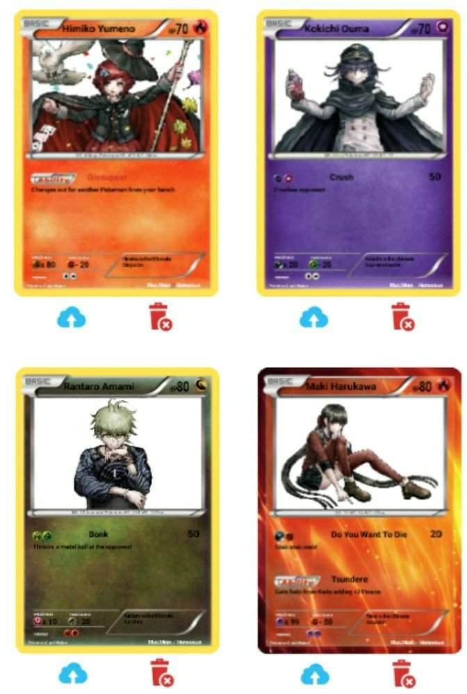 Danganronpa v3 pokemon cards major v3 spoilers - Pokemon miu two ...