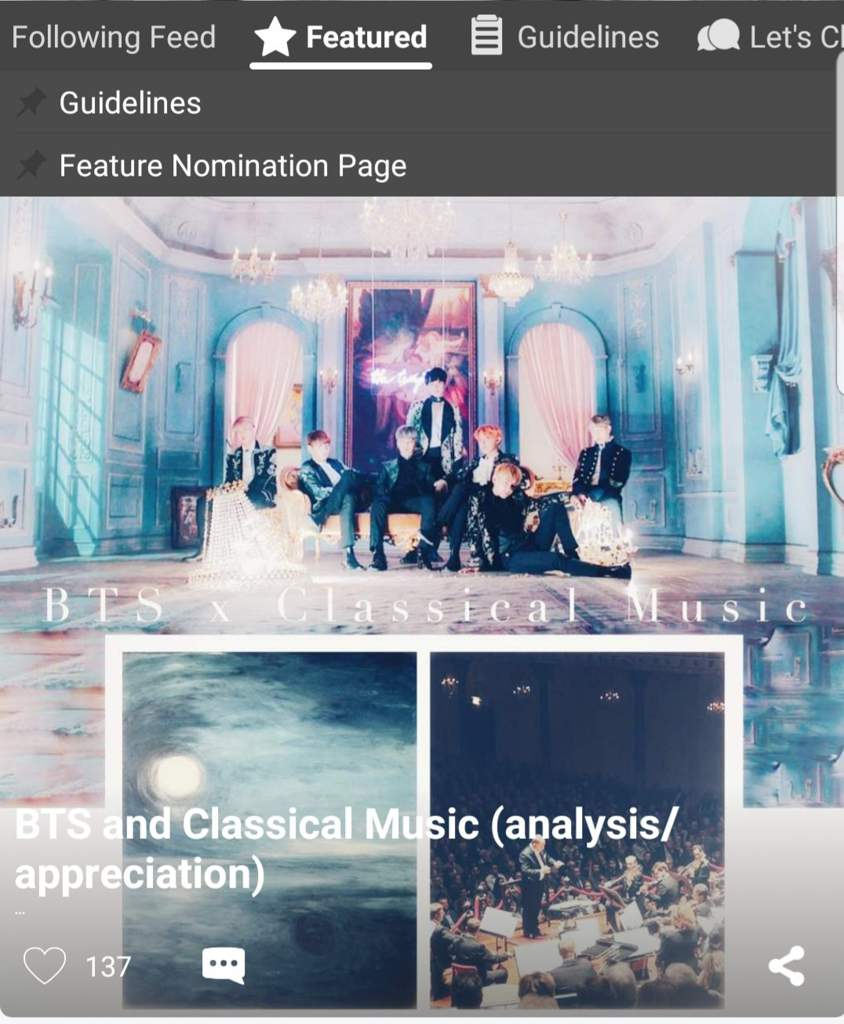 BTS and Classical Music (analysis/appreciation) | ARMY's Amino