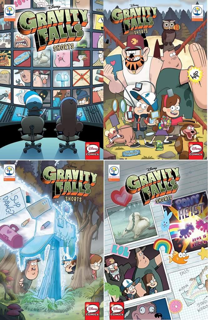Gravity Falls Shorts Cinestory