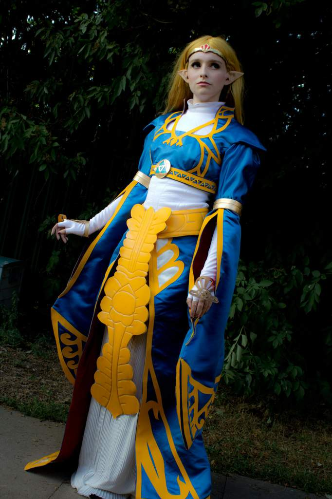 Princess Zelda Botw Royal Dress Cosplay Amino