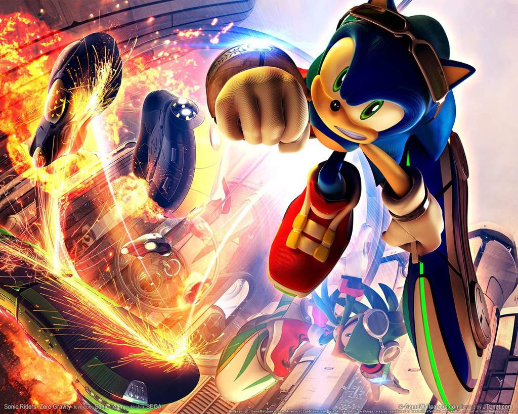 Sonic Riders Zero Gravity Is Amazing Change My Mind Sonic The Hedgehog Amino
