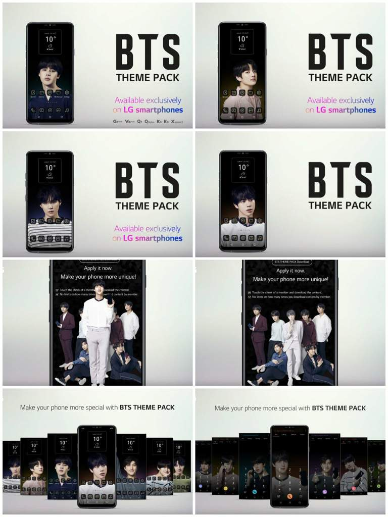 LG ThinQ BTS Theme Pack with Video! | ARMY's Amino