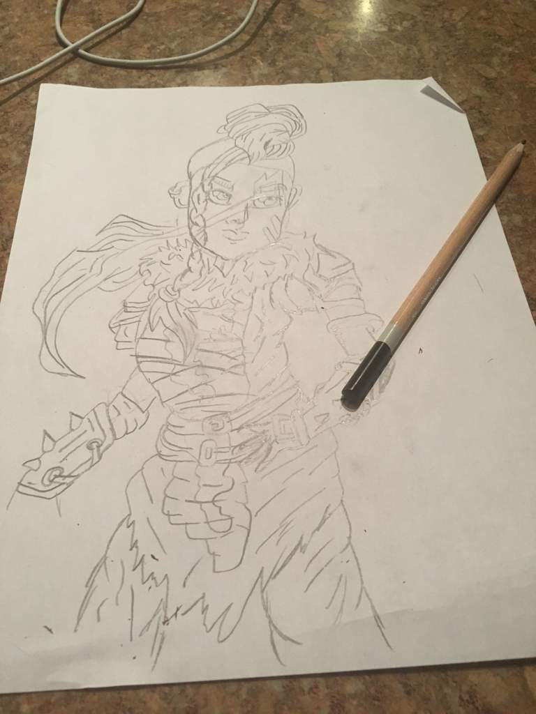 Fortnite Huntress Drawing Fortnite Battle Royale Armory