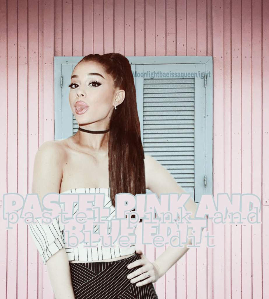 REEBOK ARI EDITS || PASTEL PINK AND BLUE | Ariana Grande Amino