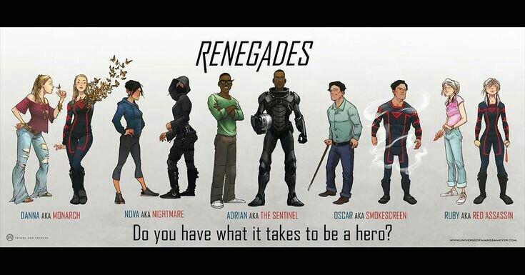 Resultado de imagen para Personajes del libro renegados