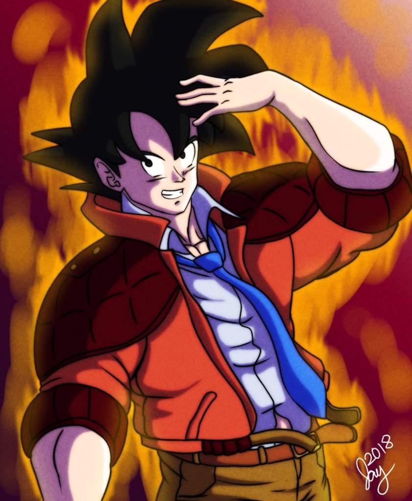 Goku Joestar | DragonBallZ Amino
