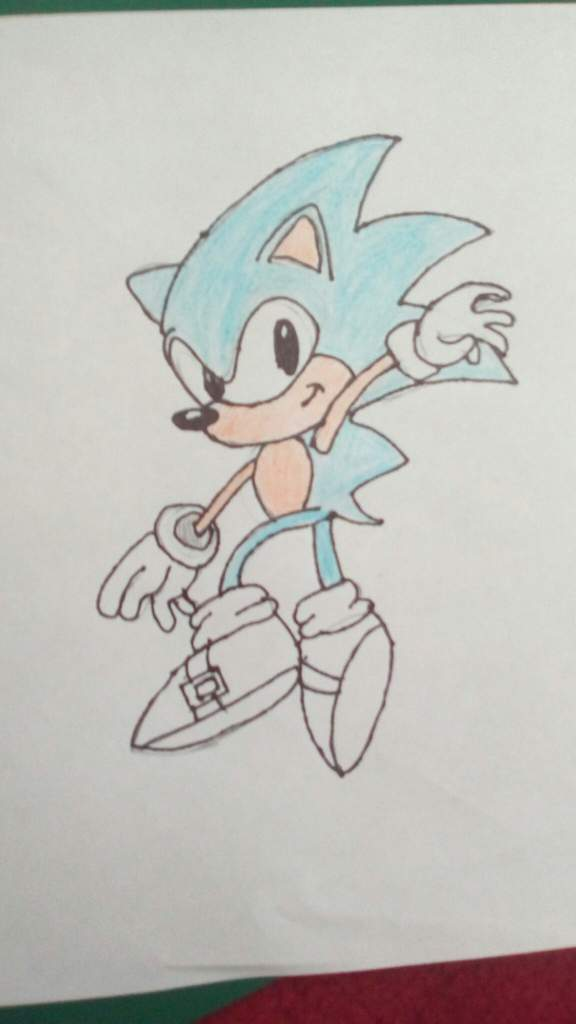 My Classic Sonic Drawing Sonic The Hedgehog Amino