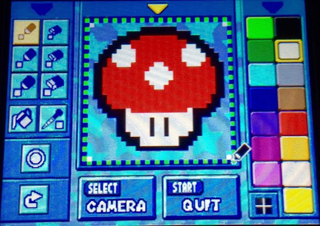 Mushroom Pixel Art Mkds Mario Kart Amino