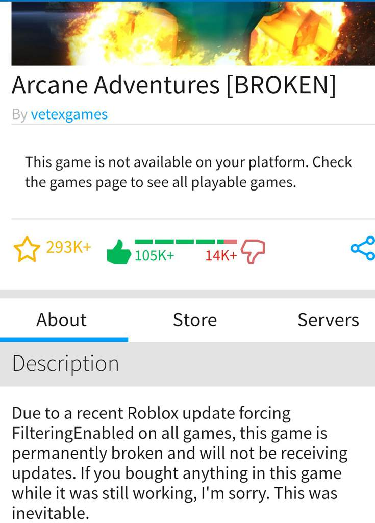 Sorry This Game Is Private Roblox In Loving Memory Arcane Adventures Roblox Amino
