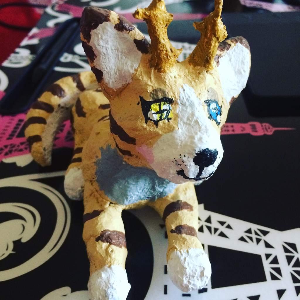 paper mache animal sculptures open furry amino
