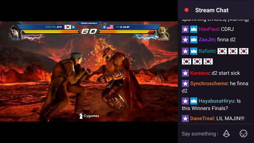 Evo 2018 Sunday Finals Top 8 For Tekken 7 Furry Amino