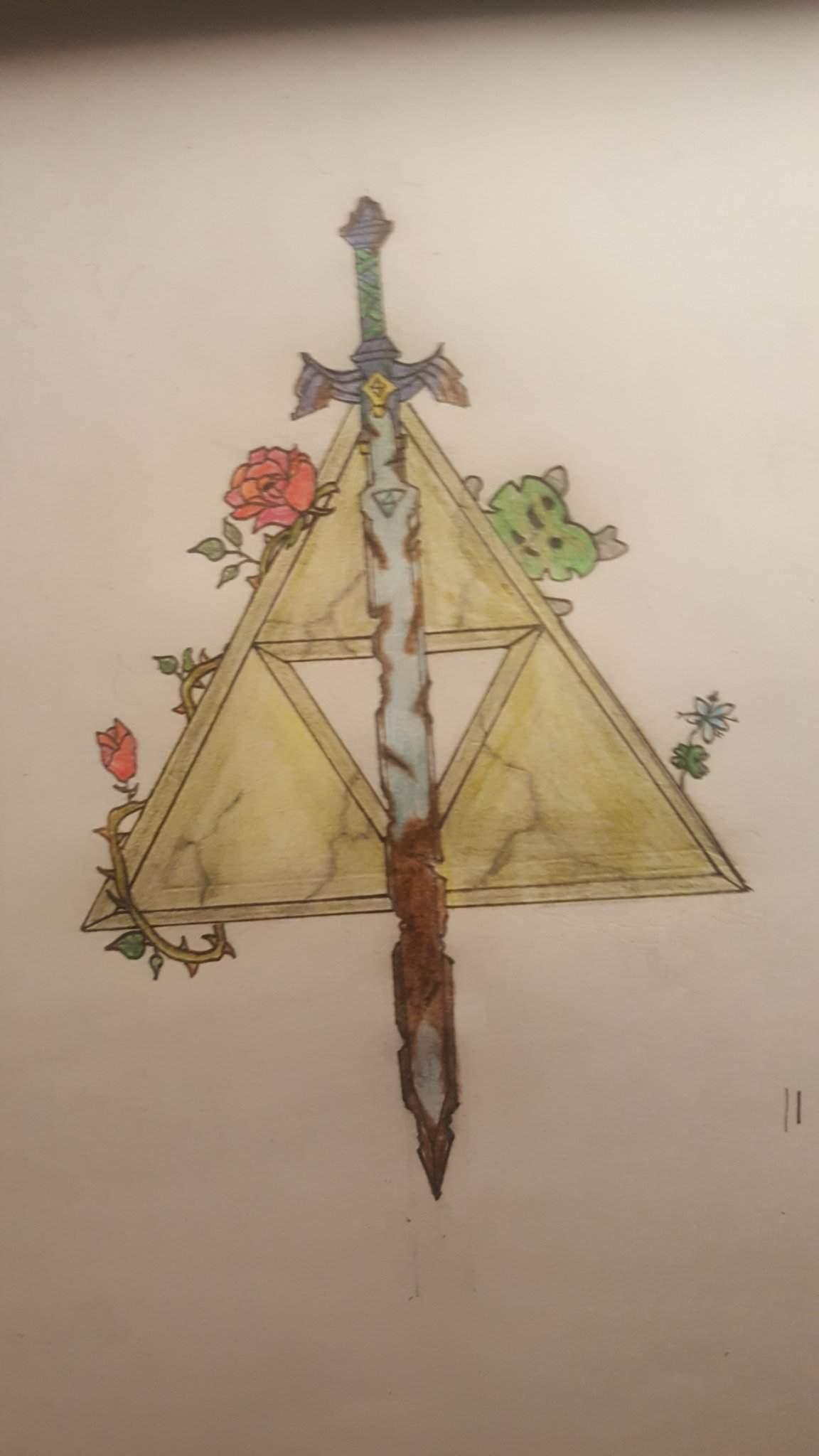 Dessin Theme Zelda The Legend Of Zelda Francais Amino
