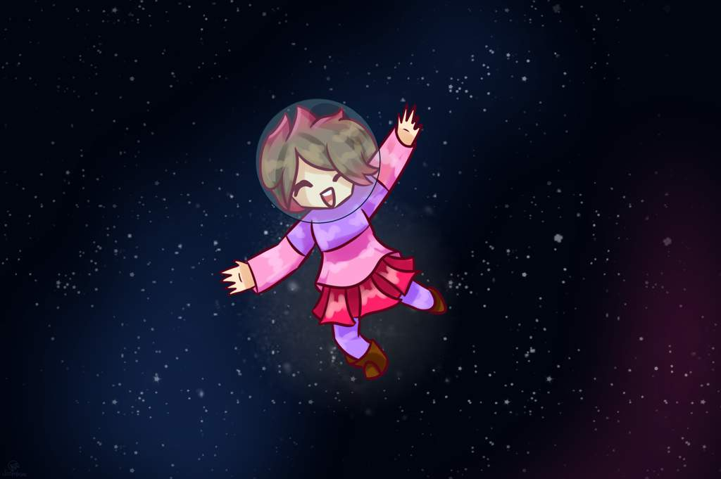betty in space space contest entry glitchtale amino