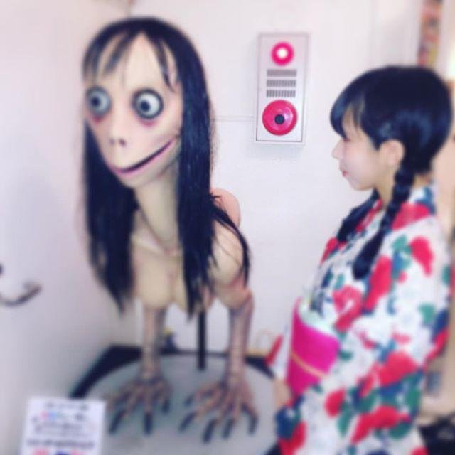 Momo Isnt Real Shes A Statue Named Mother Bird Urban Legends Cryptids Amino