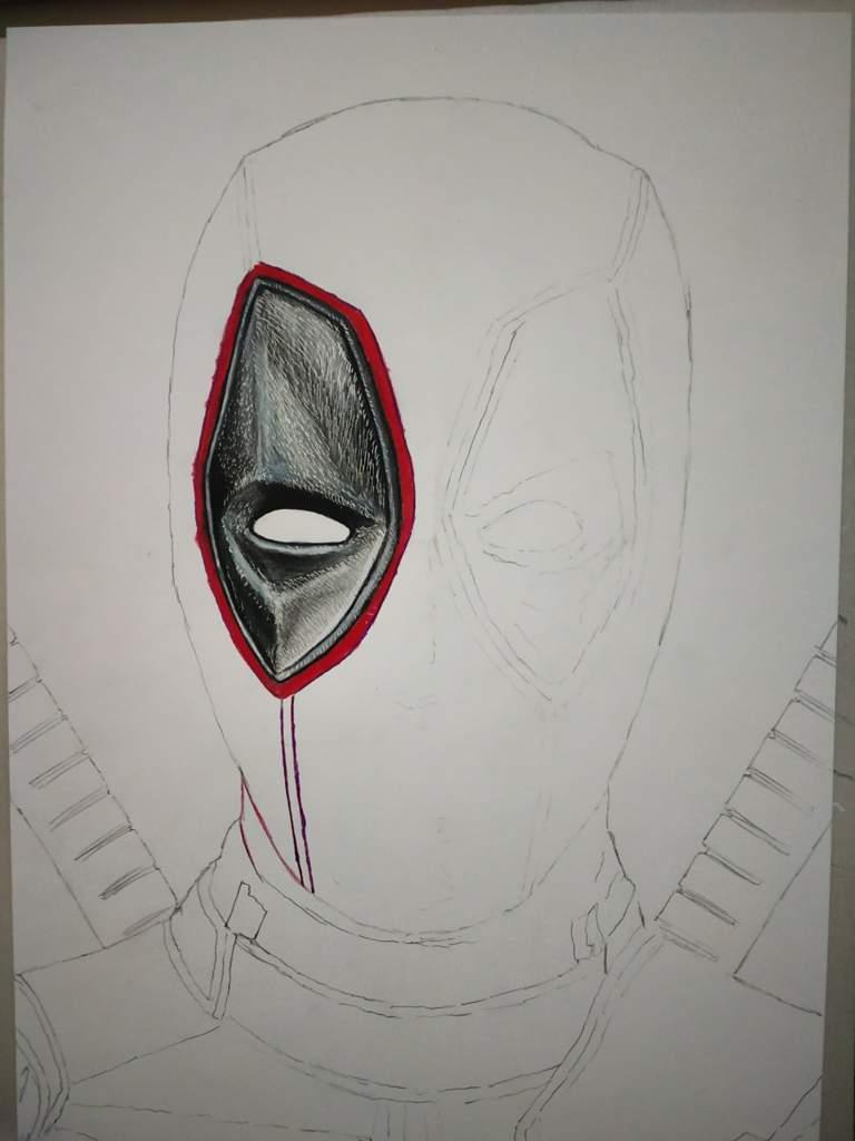 Deadpool Drawing Pencil