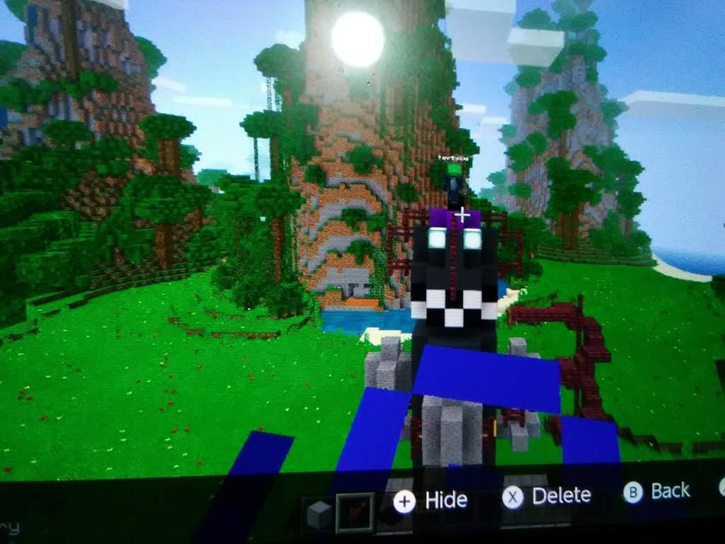 The Rocket From Season 4 Built In Minecraft Fortnite Battle