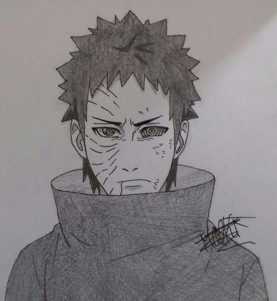Tuto dessin comment faire obito uchiha naruto boruto fr amino - Comment dessiner sasuke ...