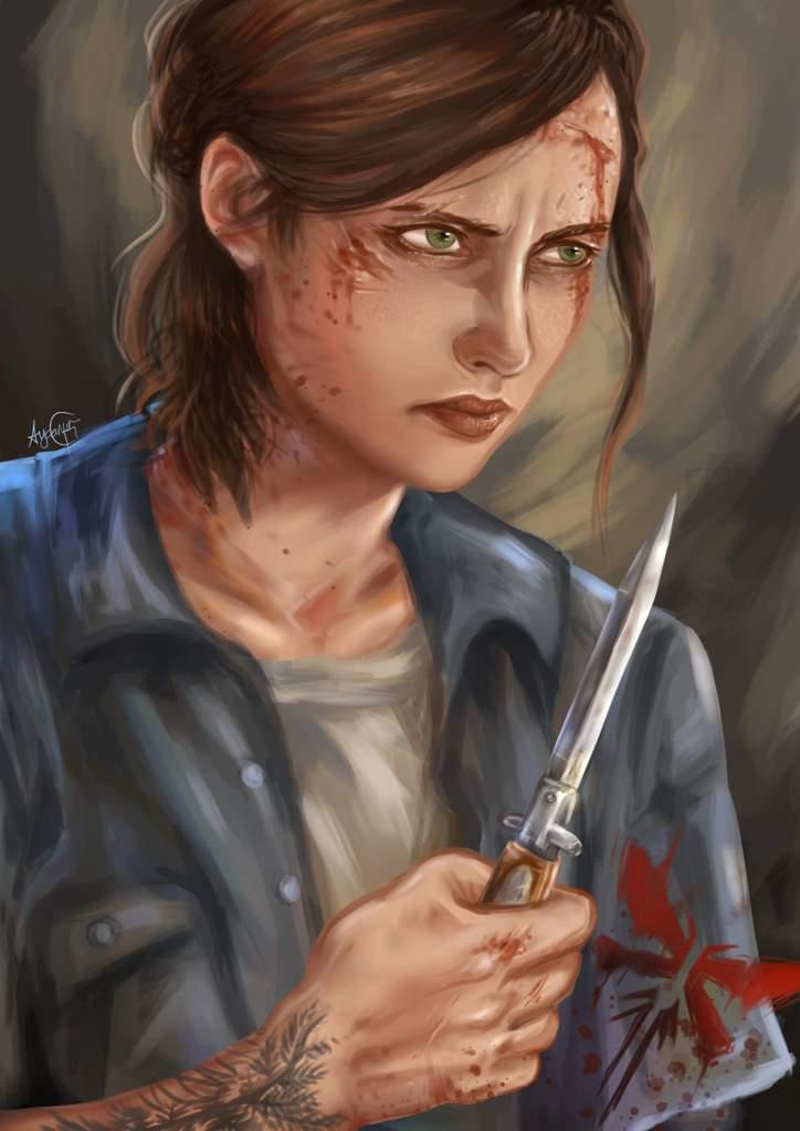 Ellie The Last Of Us 2 Fanart Arts And Ocs Amino