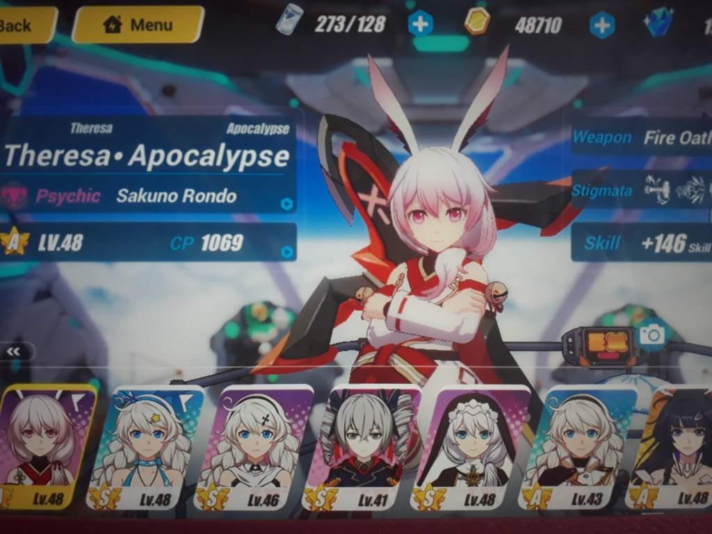 I finally have Sakuno Rondo and 5 S-Rank characters!! | Honkai