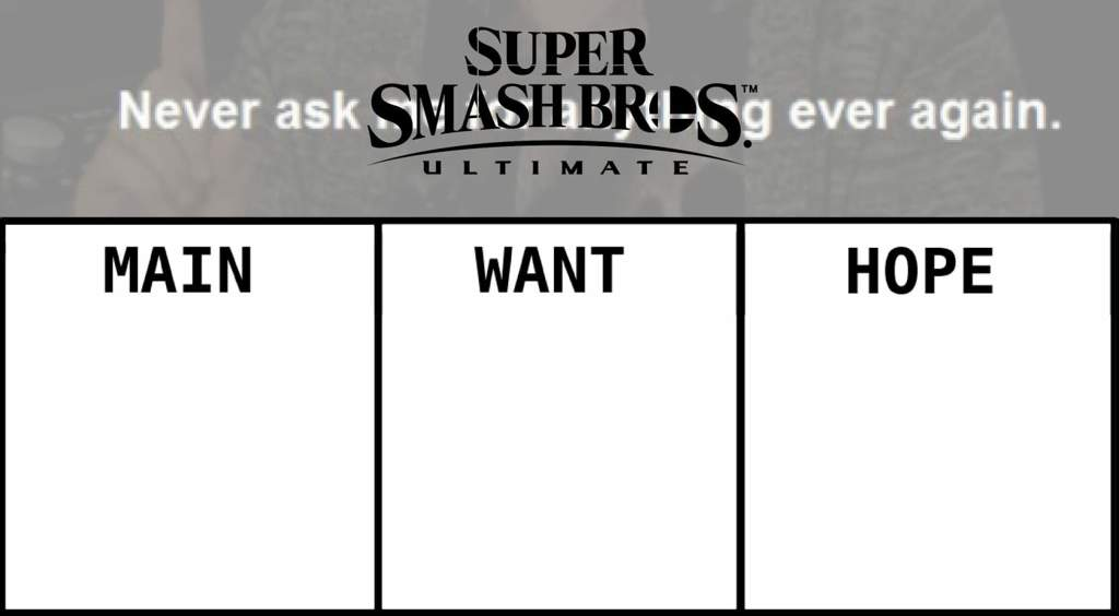 Smash Bros Ultimate Direct Template | Smash Amino