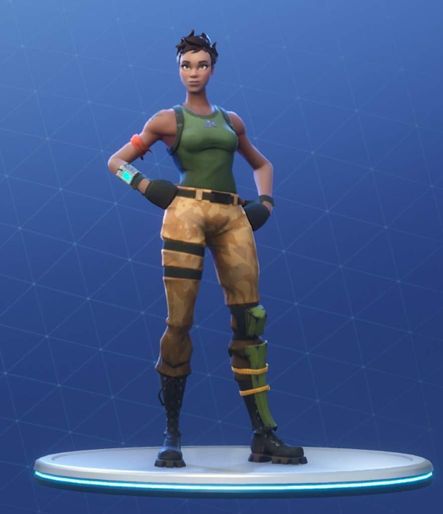 Official Names For All The Default Skins