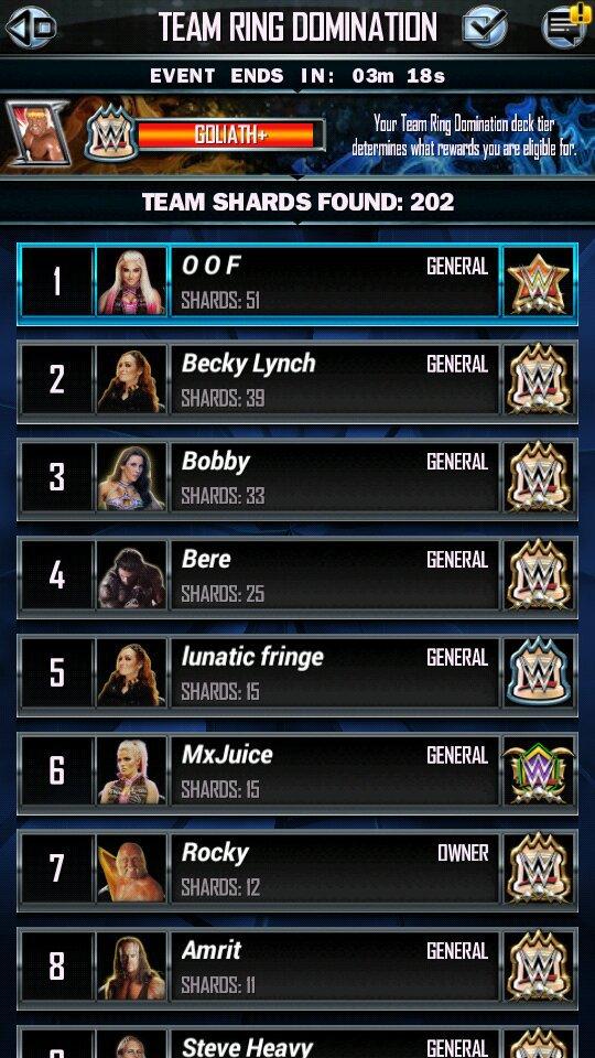 TRD Results, Pros Galore, TBG Rewards, HOF Card | WWE