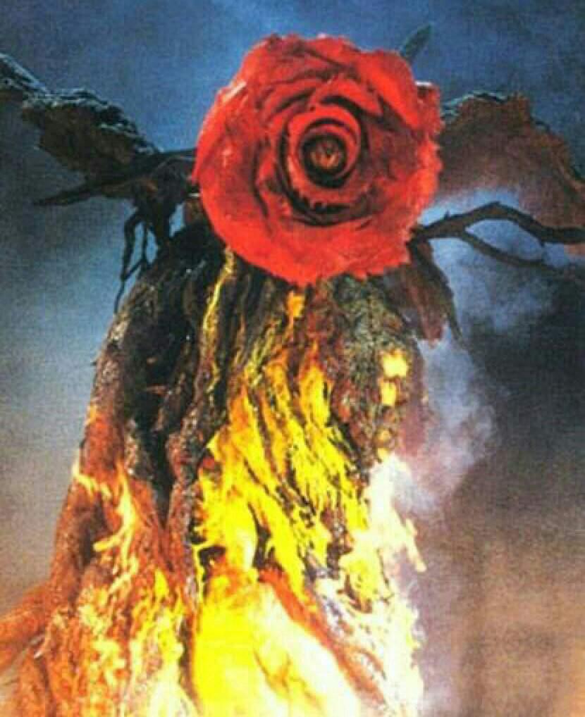 Image result for godzilla biollante rose form