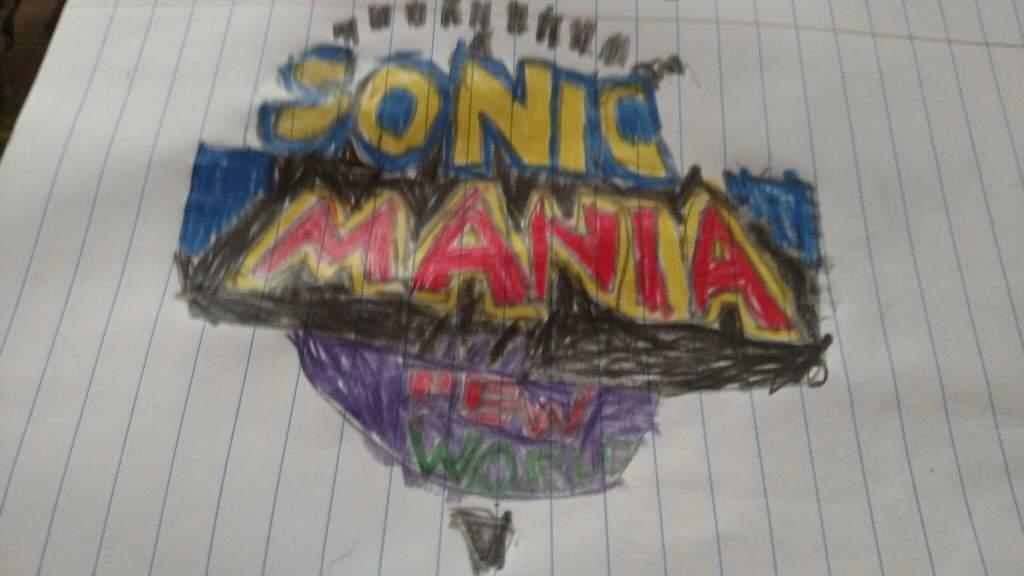 Sonic Mania 2sonic Mania New World Sonic The Hedgehog Amino